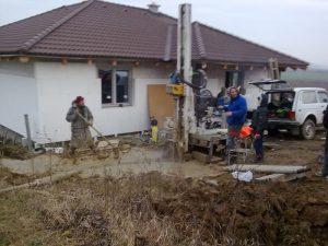 Vŕtanie studní, geologický prieskum Košice